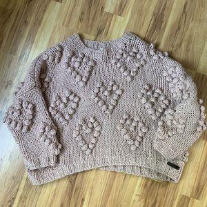 Wishlist Dusty Rose Sweater